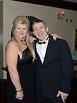Wayne Sadlier celebrating his birthday in Daly's Donore with his wife Denise. Photo:Colin Bell/pressphotos.ie