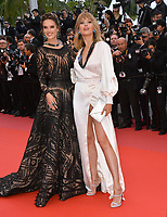 Alessandra Ambrosio &amp; Petra Nemcova at the gala screening for &quot;BLACKKKLANSMAN&quot; at the 71st Festival de Cannes, Cannes, France 14 May 2018<br /> Picture: Paul Smith/Featureflash/SilverHub 0208 004 5359 sales@silverhubmedia.com