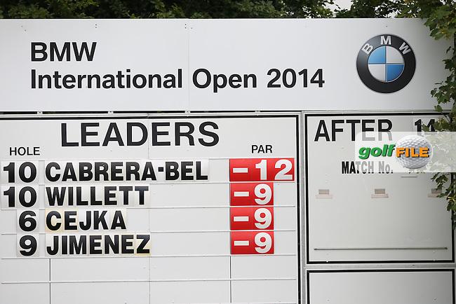 Rafa Cabrera-Bello (ESP) steaming ahead during Round Two of the BMW International Open 2014 from Golf Club Gut Lärchenhof, Pulheim, Köln, Germany. Picture:  David Lloyd / www.golffile.ie