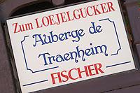 restaurant zum loejelgucker auberge de traenheim traenheim alsace france