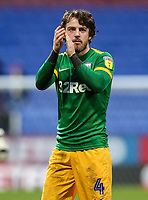 Preston North End's Ben Pearson applauds his side's travelling supporters at the end of the match  <br /> <br /> Photographer Andrew Kearns/CameraSport<br /> <br /> The EFL Sky Bet Championship - Bolton Wanderers v Preston North End - Saturday 9th February 2019 - University of Bolton Stadium - Bolton<br /> <br /> World Copyright © 2019 CameraSport. All rights reserved. 43 Linden Ave. Countesthorpe. Leicester. England. LE8 5PG - Tel: +44 (0) 116 277 4147 - admin@camerasport.com - www.camerasport.com