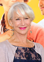 NEW YORK CITY, NY, USA - AUGUST 04: Helen Mirren at the World Premiere Of Dreamworks Pictures' 'The Hundred-Foot Journey' held at Ziegfeld Theatre on August 4, 2014 in New York City, New York, United States. (Photo by Celebrity Monitor)