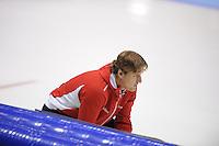 SCHAATSEN: HEERENVEEN: IJsstadion Thialf, 11-11-2012, KPN NK afstanden, Seizoen 2012-2013, Peter Kolder (trainer/coach Team Corendon), ©foto Martin de Jong