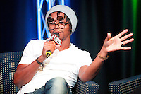 BALA CYNWYD, PA - SEPTEMBER 26 : Lupe Fiasco participates in a town hall meeting at Power 99's iHeart Radio Performance Theater in Bala Cynwyd, Pa on September 26, 2012  © Star Shooter / MediaPunch Inc /NortePhoto