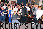 A surprise 50th birthday party was held for for Mike Horgan from Cahersiveen in Keating's The Corner House on Saturday night night, Mike seated here front centre with family and friends.