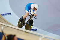 Katie Archibald of Scotland wins gold in the Women's 3000m Individual Pursuit. Gold Coast 2018 Commonwealth Games, Track Cycling, Anna Meares Velodrome, Brisbane, Australia. 6 April 2018 © Copyright Photo: Anthony Au-Yeung / www.photosport.nz /SWpix.com