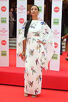 Maya Jama at The Prince's Trust TK Maxx and Homesense Celebrate Success Awards at The London Palladium, Argyll Street, London on March 13th 2019<br /> CAP/ROS<br /> &copy;ROS/Capital Pictures