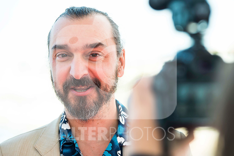 "The director of the film Jean-Patrick Benes pose to the media during the presentation of the film ""Ares"" at Festival de Cine Fantastico de Sitges in Barcelona. October 11, Spain. 2016. (ALTERPHOTOS/BorjaB.Hojas)"