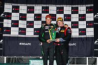 LMP3 Masters Podium, #4 ANSA Motorsports, Ligier JS P3, LMP3: Dean Baker (M), Zacharie Robichon