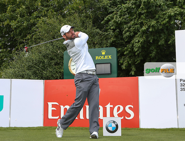 Paul Casey (ENG) tees off during the Pro-Am day of the BMW International Open 2014 from Golf Club Gut Lärchenhof, Pulheim, Köln, Germany. Picture:  David Lloyd / www.golffile.ie