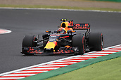 6th October 2017, Suzuka Circuit, Suzuka, Japan; Japanese Formula One Grand Prix, Friday Free Practice; Max Verstappen - Red Bull Racing