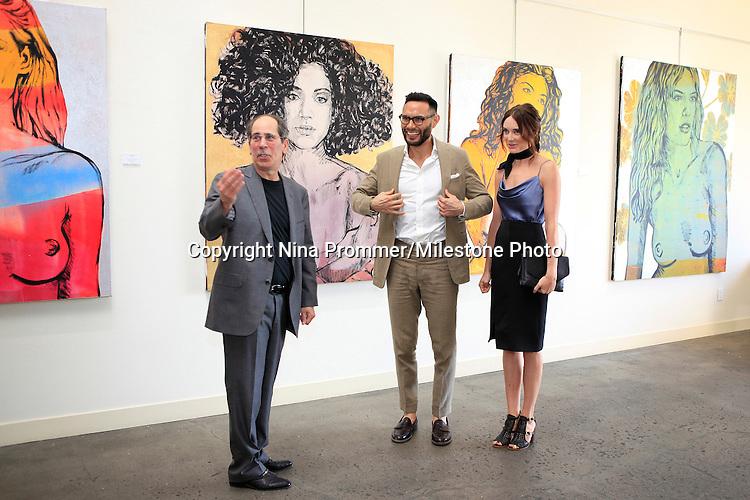 David Bromley La Women Art Exhibition Opening Reception Milestone
