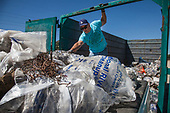 La Gran Limpieza, FoLAR River clean-up April 17, 2016, Los Angeles River, Glendale Narrows, Los Angeles, California, USA