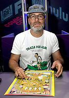 FOX FAN FAIR AT SAN DIEGO COMIC-CON© 2019: BOB'S BURGERS Cast Member H. Jon Benjamin during the BOB'S BURGERS booth signing on Friday, July 19 at the FOX FAN FAIR AT SAN DIEGO COMIC-CON© 2019. CR: Alan Hess/FOX © 2019 FOX MEDIA LLC