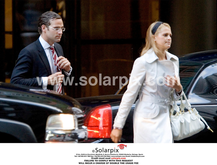 ALL ROUND EXCLUSIVE PICTURES BY SOLARPIX.COM.**UK, AUSTRALIA,NZ RIGHTS ONLY**.MUST CREDIT SOLARPIX.COM OR DOUBLE FEE WILL BE INCURRED.Princess Madeleine of Sweden & her boyfriend Jonas Bergstrom met up with King Carl Gustaf & Queen Silvia in New York today as they begin their official visit to the US..The couple have been seeing each other for over 3 and half years and Jonas was invited to to the Kings private Birthday  party fuelling rumours of  a Royal wedding..Madeleine is working in New York for Unicef and Jonas for a Law firm...JOB REF: DNA 2334   11.5.06  ..