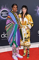 LOS ANGELES, USA. November 25, 2019: Big Freedia & Kesha at the 2019 American Music Awards at the Microsoft Theatre LA Live.<br /> Picture: Paul Smith/Featureflash