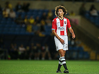 15 year old Ethan Ampadu of Exeter City during the The Checkatrade Trophy match between Oxford United and Exeter City at the Kassam Stadium, Oxford, England on 30 August 2016. Photo by Andy Rowland / PRiME Media Images.