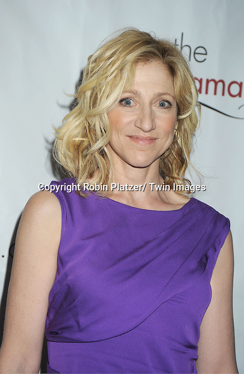 Edie Falco attending the Drama League Awards Ceremony and Luncheon at The Marriott Marquis Hotel in New York on May 20, 2011.