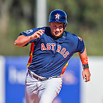 4 March 2016: Houston Astros infielder J.D. Davis in action during a Spring Training pre-season game against the St. Louis Cardinals at Osceola County Stadium in Kissimmee, Florida. The Astros defeated the Cardinals 6-3 in Grapefruit League play. Mandatory Credit: Ed Wolfstein Photo *** RAW (NEF) Image File Available ***