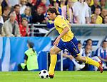 Johan Elmander at Euro 2008 Greece-Sweden 06102008, Salzburg, Austria
