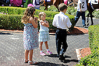 Scenes from around the track on Louisiana Derby Day on April 1, 2012 at Fair Grounds Race Course in New Orleans, Louisiana.  (Bob Mayberger/Eclipse Sportswire)