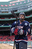 Max Kalter (UConn - 18) - The University of Maine Black Bears defeated the University of Connecticut Huskies 4-0 at Fenway Park on Saturday, January 14, 2017, in Boston, Massachusetts.