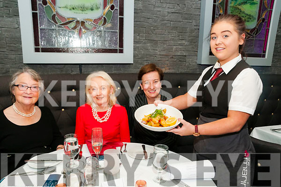 Food Meets Fashion: pictured at the Food meets Fashion event in aid of St. Vincent de Paul at the Marine Hotel, Ballybunion were Nora Murrihy, Patricia Boyle Mary Kelly & Lauren Doyle.