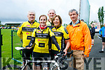 At the The Ring of North Kerry Cycle starting at FINUGE GAA on Saturday were Newcastle West CC Pat O'Grady, Aileen Dowd, Pat O'Connor, Mary Carroll, Noel O'Doherty
