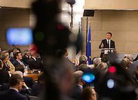 20150728 ROMA-POLITICA: RENZI INTERVIENE ALLA CONFERENZA DEGLI AMBASCIATORI