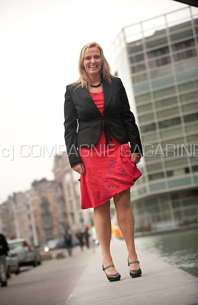 Sarah scaillet general manager of the national pensions office belgium 10 07 2014 - Office des pensions belgique ...