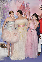 Ellie Bamber, Keira Knightley, Mackenzie Foy<br /> 'The Nutcracker and the Four Realms' European Film Premiere at Westfield, London, England  on November 01,  2018.<br /> CAP/PL<br /> &copy;Phil Loftus/Capital Pictures