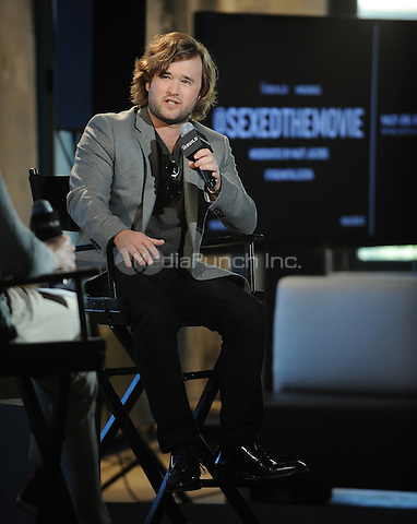 "New York,NY- October 27: Haley Joel Osment attends AOL's BUILD Speaker Series to discuss his new comedy ""Sex Ed""In New York City on October 27, 2014 . Credit: John Palmer/MediaPunch"