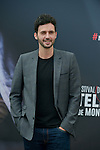 Ferret Raphael poses at a photocall for the TV series 'Profilage' during the 55th Monte Carlo TV Festival on June 13, 2015 in Monte-Carlo, Monaco