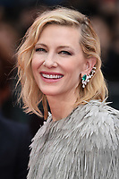 "Cate Blanchett<br /> arriving for the ""Ocean's 8"" European premiere at the Cineworld Leicester Square, London<br /> <br /> ©Ash Knotek  D3408  13/06/2018"
