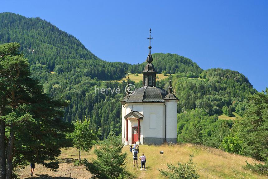 France, Savoie (73), Longefoy, chapelle de la Superga // France, Savoie, Longefoy, chapel of the Superga