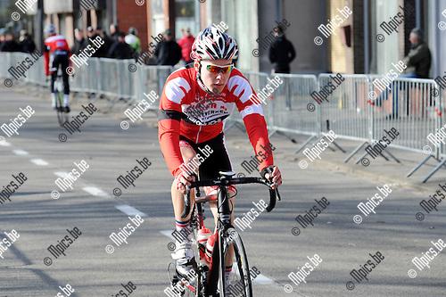 2015-02-28 / Wielrennen / seizoen 2015 / Junioren Rijkevorsel / Jordi Govaerts<br /><br />Foto: Mpics.be