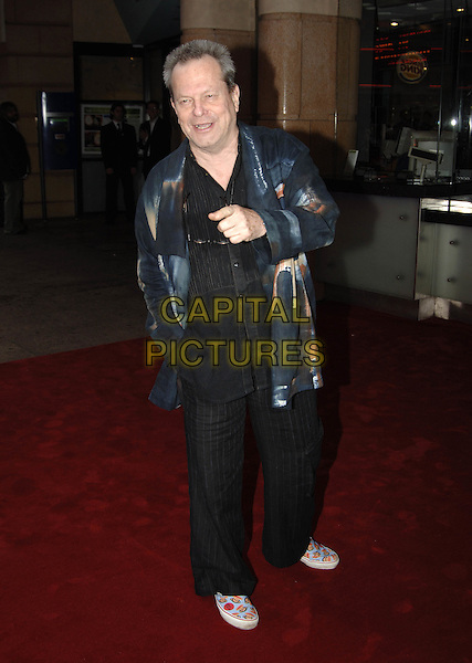 "TERRY GILLIAM.""The League Of Gentlemen's Apocalypse"" UK Film Premiere, Vue Cinema, Leicester Square, .London, June 1st 2005..full length.Ref: PL.www.capitalpictures.com.sales@capitalpictures.com.©Capital Pictures"