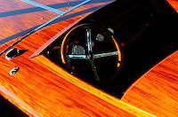 Cockpit detail of Boomerang.