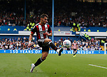 George Baldock of Sheffield Utd during the Championship match at the Hillsborough Stadium, Sheffield. Picture date 24th September 2017. Picture credit should read: Simon Bellis/Sportimage