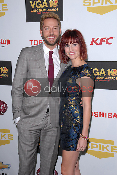 Zachary Levi, Allison Haislip<br /> at Spike TV`S Video Game Awards 2012, Sony Pictures Studios, Culver City, CA 12-07-12<br /> David Edwards/DailyCeleb.com 818-249-4998