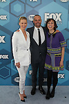 January Jones & Will Forte &  Kristen Schaal - The Last Man on Earth  - Fox Upfronts - May 16, 2016 at Wollman Rink, Central Park, New York City, New York. (Photo by Sue Coflin/Max Photos)