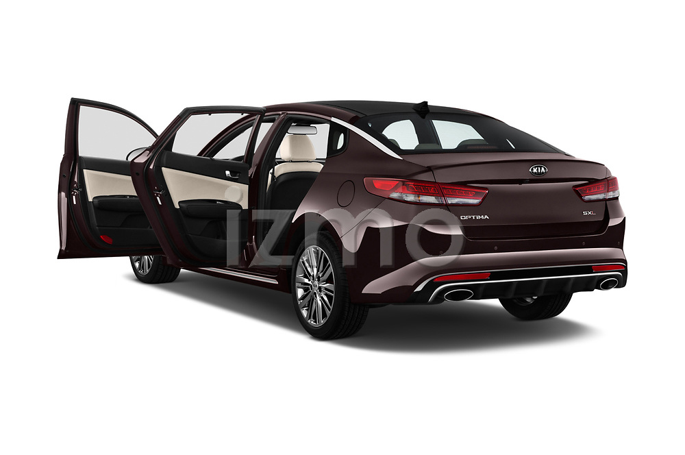 Car images close up view of a 2017 KIA Optima SX Limited AT 4 Door Sedan doors