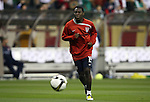 06 February 2008: Freddy Adu (USA). The United States Men's National Team played the Mexico Men's National Team to a 2-2 tie at the Reliant Stadium in Houston, TX in a men's international friendly soccer game.