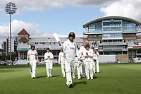 Tom Westley of Essex acknowledges the crowd as he leaves the field after clinching victory during Nottinghamshire CCC vs Essex CCC, Specsavers County Championship Division 1 Cricket at Trent Bridge on 13th September 2018