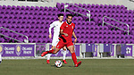 Orlando, Florida - Wednesday January 17, 2018: Thomas Vancaeyezeele. Match Day 3 of the 2018 adidas MLS Player Combine was held Orlando City Stadium.