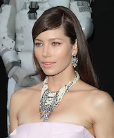 HOLLYWOOD, CA - AUGUST 01: Jessica Biel at the premiere of Columbia Pictures' 'Total Recall' held at Grauman's Chinese Theatre on August 1, 2012 in Hollywood, California Credit: mpi21/MediaPunch Inc. /NortePhoto.com<br />