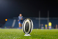 1st November 2019; RDS Arena, Dublin, Leinster, Ireland; Guinness Pro 14 Rugby, Leinster versus Dragons; A practice ball is ready for the players prior to kickoff - Editorial Use