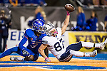 16FTB at Boise State 1535<br /> <br /> 16FTB at Boise State<br /> <br /> BYU Football at Boise State University<br /> <br /> BYU-27<br /> BSU-28<br /> <br /> October 20, 2016<br /> <br /> Photo by Jaren Wilkey/BYU<br /> <br /> &copy; BYU PHOTO 2016<br /> All Rights Reserved<br /> photo@byu.edu  (801)422-7322