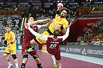 handball wordl cup match between Qatar vs Spain.  entrerios. 2015/01/21. Doha. Qatar. Alberto de Isidro.Photocall 3000