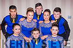 The Spa dancers that competed in the Scor na nÓg All Ireland finals in the INEC on Saturday front row l-r: Katie Cronin,, Gary O'Sullivan, Ava O'Sullivan, Back row l-r:  Eoin O'Donoghue, Aine Brosnan, Kianan O'Doherty, Anna O'Connor and Liam Spillane